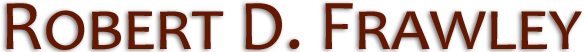 Law Offices of Robert D. Frawley logo